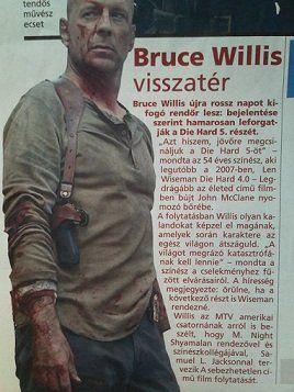 Bruce Willis 2011